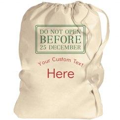 Custom Santa Bag