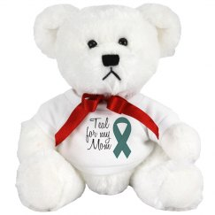 Teal For Mom Bear