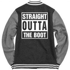 Fleece Letterman Varsity Jacket