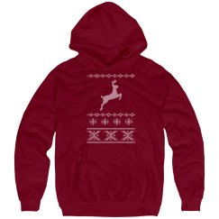 Deer Jump Sweater Hoodie