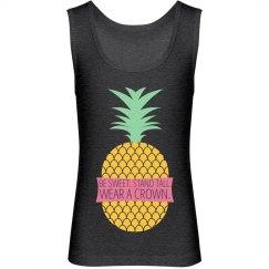 Be A Pineapple Girls Tank