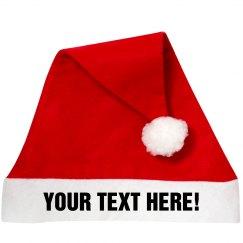A Custom Santa Hat