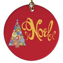 Noel Festive Ornament