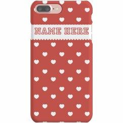 Custom Valentines Day Phone Case
