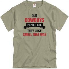Old Cowboys never die