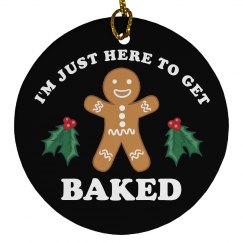 Baked Cookies Christmas Ornament