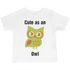 Cute as an Owl