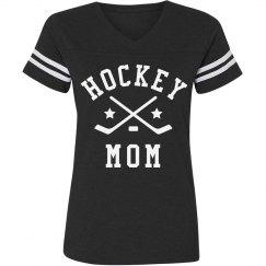 Hockey Mom Vintage Tee