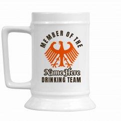 Oktoberfest Drinking Team