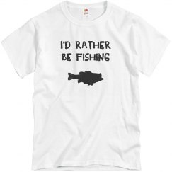 I'd rather be fishing.