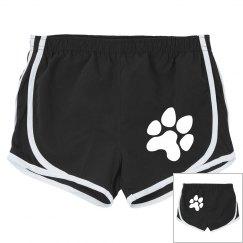Black and White Sport Shorts