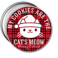 Cat Christmas Cookie Gift