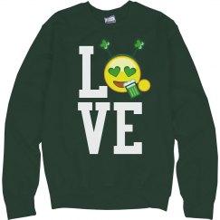 Love on St Patricks Day