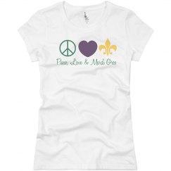 Peace, Love, Mardi Gras