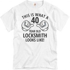 40 year old locksmith