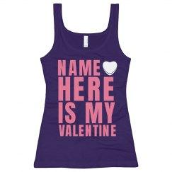 Custom Name Valentine