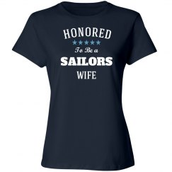 Honored to be sailors wife