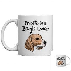 Proud beagle lover