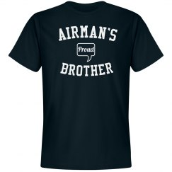 Proud airman's brother