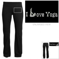 Glitter Yoga Pants