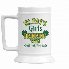 Drinking Team Stein