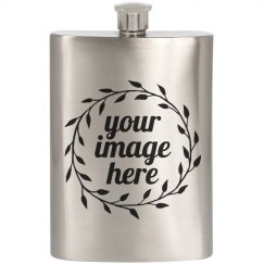 Your Image On This Flask!