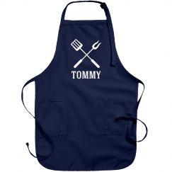 Tommy personalized apron