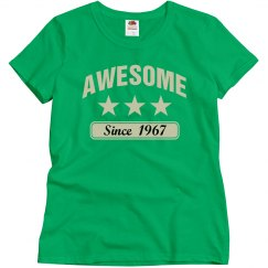 Awesome since 1967