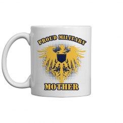Proud Military Mom Mug