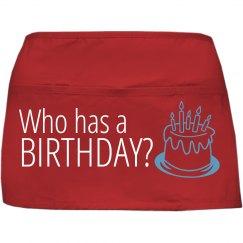 Who has a Birthday?