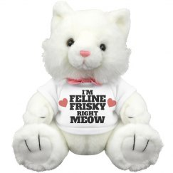 Feline Frisky Right Meow