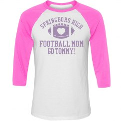 Football Heart Mom