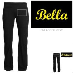 Bella, yoga pants