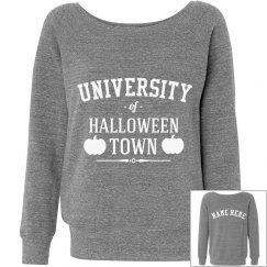 Custom Grey Halloween Town