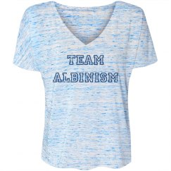 Team Albinism- Distressed Blue