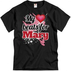 My heart beats for Mary