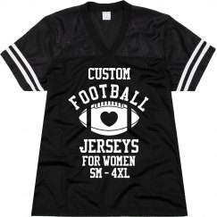 Custom Plus Size Womens Jersey