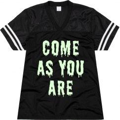 Glow In Dark Grunge Lyric Jersey