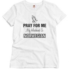 My husband is Norwegian