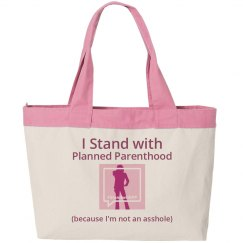 Stand With PP Beach Bag