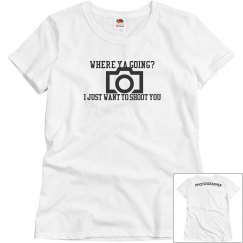 PHOTOGRAPHER TSHIRT