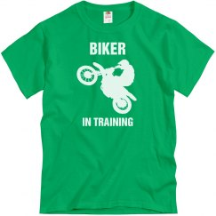Biker in Training