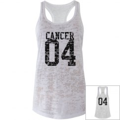 Cancer Sporty Zodiac Tank