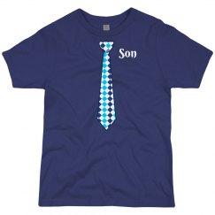 Son Blue Neck Tie