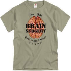 Brain Surgery Excuse