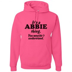 It's a Abbie thing!