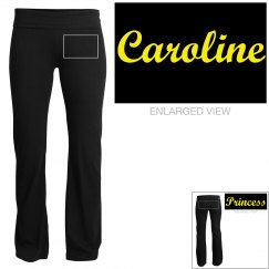 Caroline, yoga pants