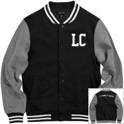 SS fleece varsity jacket