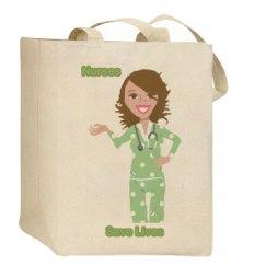 Nurses Save Lives Bag