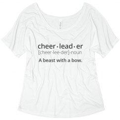 Definition of Cheerleader